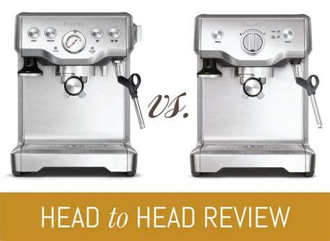 Breville Infuser (BES840XL) vs. Duo Temp Pro   Espresso Perfecto