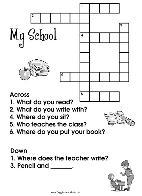 easy crossword puzzles with answers pdf crosswords for esl