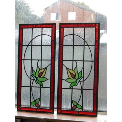 Handmade Stained Glass - 122 handmade stained glass panels jersey