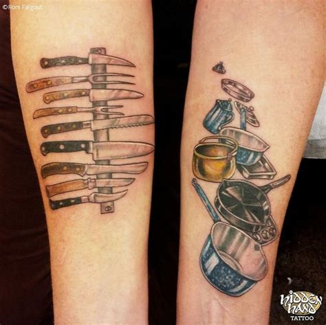 14 amazingly creative chef tattoos