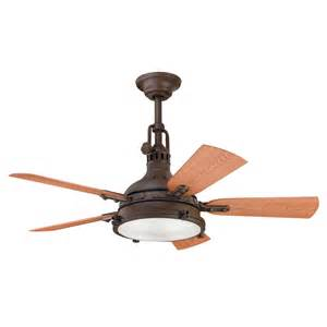 Patio Ceiling Fans With Lights Hatteras Bay Patio Model 310101tzp Ceiling Fan And Fan Accessories By Kichler Fans