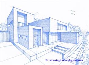 Draw House How To Draw A House Learn To Draw