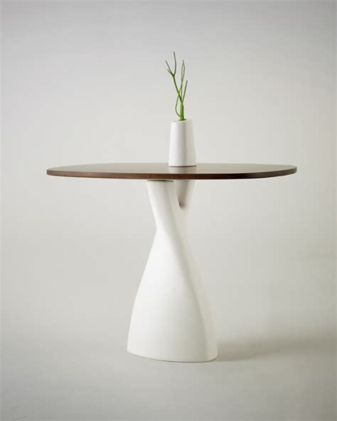 Vase Table by Minimalist Table Vase Fusion By Designer Strupinskaya