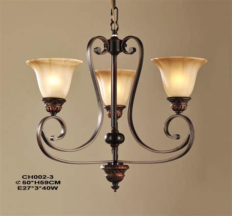 3 light copper kitchen chandeliers for sale