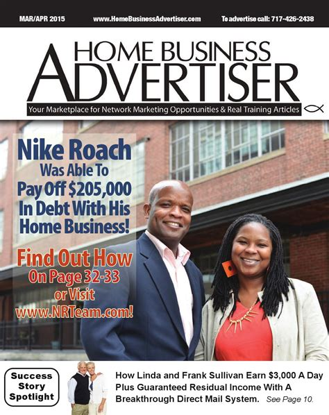 home business advertiser magazine by home business