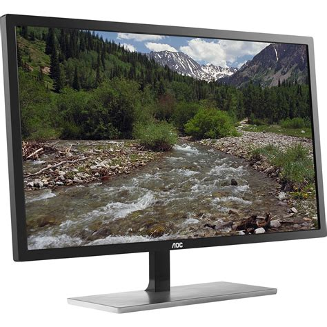 Led Uhd aoc u2879vf 28 quot widescreen led backlit lcd 4k uhd u2879vf