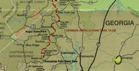 springer mountain map at springer mountain gt neels gap 2sparrows