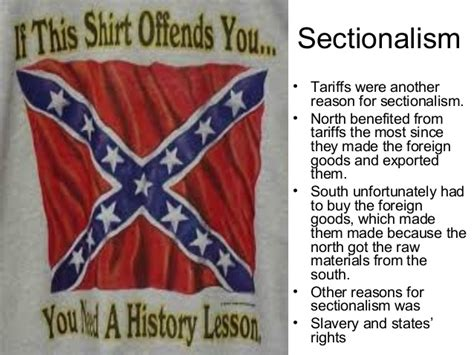 sectional tariff causes of the civil war