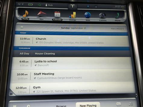 Calendar App Review Tesla Firmware 6 0 Calendar App Review
