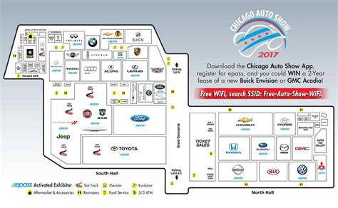 Ice Cream Shop Floor Plan Show Floor Map About Chicago Auto Show