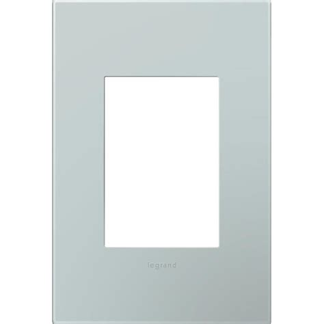 adorne by legrand shop legrand adorne 1 gang pale blue single square wall