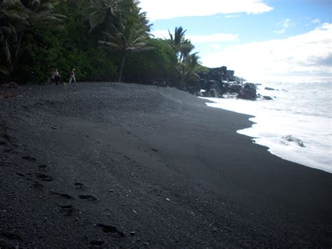black sand beach big island recent activity hawaiian adventure tour number 1
