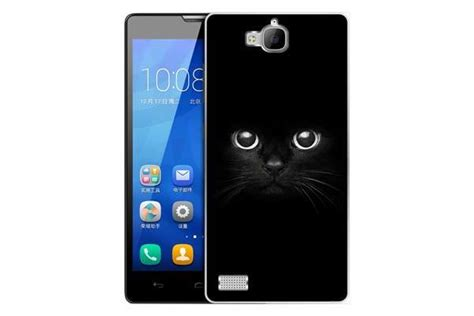 ultrathin silicone lining for huawei honor 3 c transparent