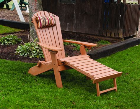 polywood adirondack chair with pull out ottoman item 883 folding reclining w o 2356223618 o