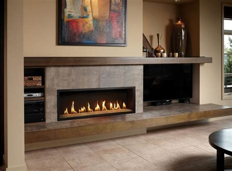 modern fireplace surround ideas chic linear fireplace ideas modern fireplaces with great visual appeal