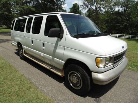 auto body repair training 1995 ford econoline e350 navigation system sell used 1995 ford e 350 club wagon 15 passenger van in mississippi no reserve in petal