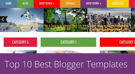 18 elegant responsive premium blogger templates