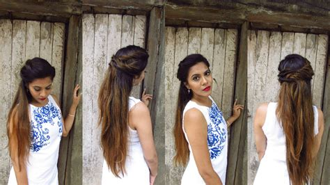 Easy Boho Hairstyles by Easy No Heat Boho Hairstyle For Bad Hair Day Indian