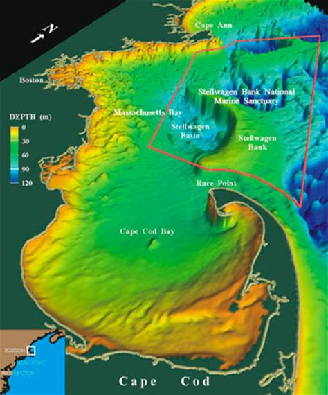 geology of cape cod about location stellwagen bank national marine sanctuary
