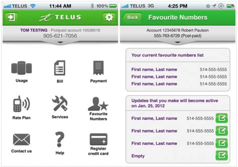 My Telus Phone Lookup Telus To Launch You Account Iphone App For Account