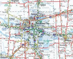 oklahoma city us map map of oklahoma city wisconsin map