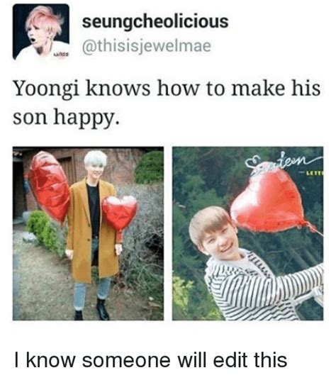 How To Edit Meme Pictures - seungcheolicious athisisjewelmae yoongi knows how to make