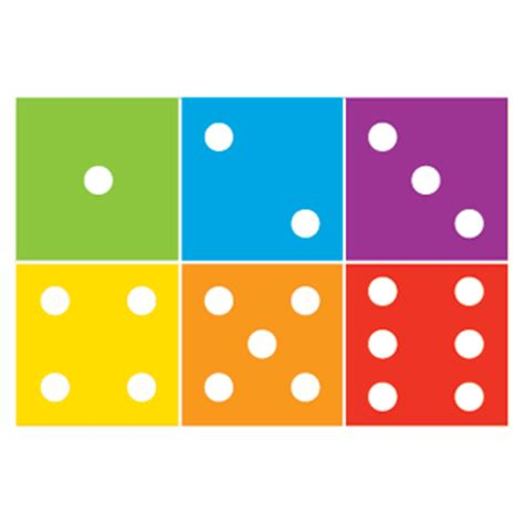 dot pattern on dice dice dots accucut education