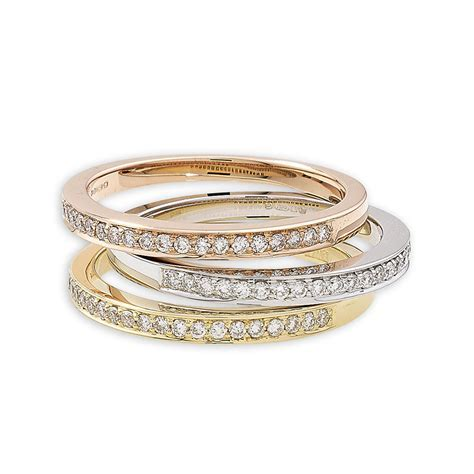 Exclusive Diamond Grain Set Stack Rings   London Road