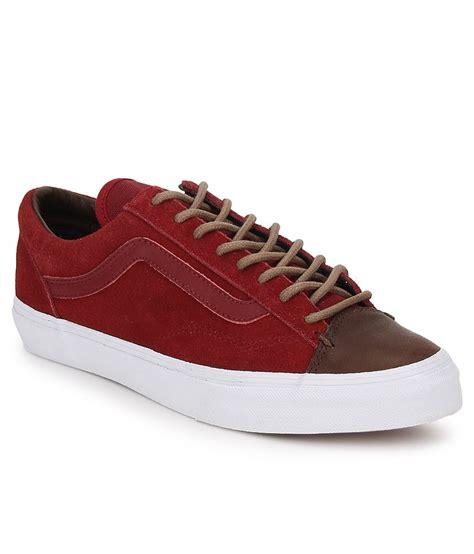 vans maroon shoes vans maroon lifestyle shoes buy vans maroon lifestyle