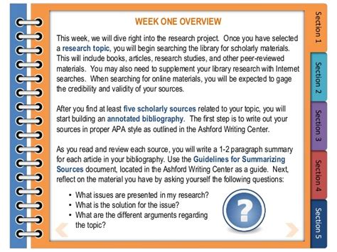 Ecu Mba Deadlines by How To Write An Annotated Bibliography King