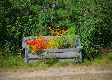flower bench flower bench kukkapenkki minor postcards