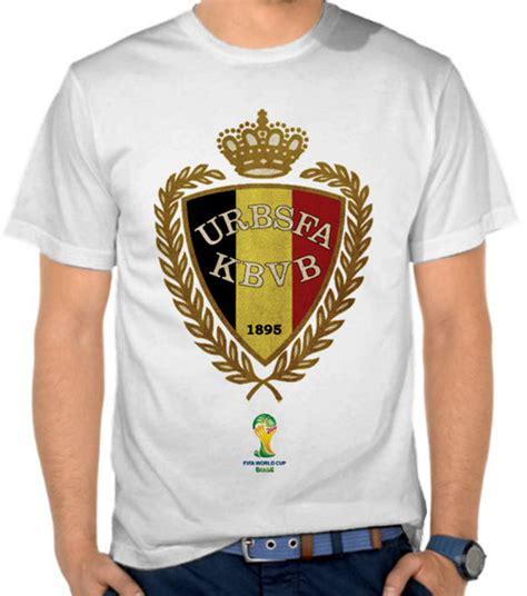 Kaos World Cup 65 jual kaos piala dunia 2014 logo tim belgia world cup