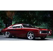 DUB Magazine  71 Chevy Chevelle SS Old School Roots New