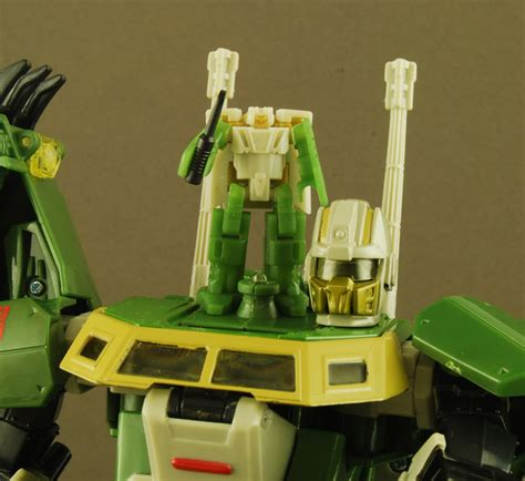 Weijiang Transformers G1 Headmasters Hardhead Figure New In new images of headrobots hothead upgrade set