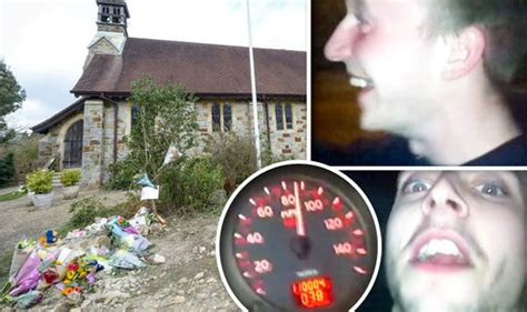 horror footage of 90mph car crash which the families of
