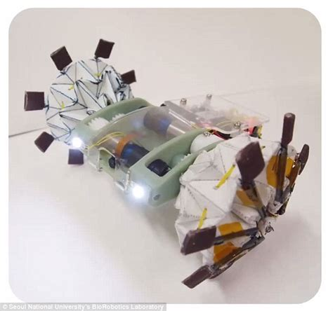 Origami Robot - an origami inspired robot that can fold itself like a paper