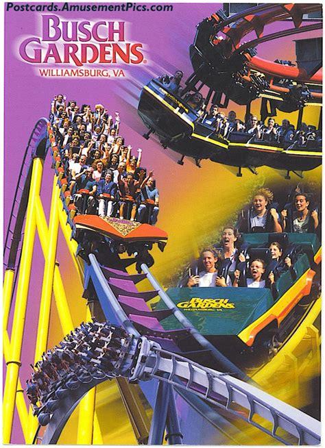 Busch Gardens Williamsburg Card by Busch Gardens Williamsburg Postcards