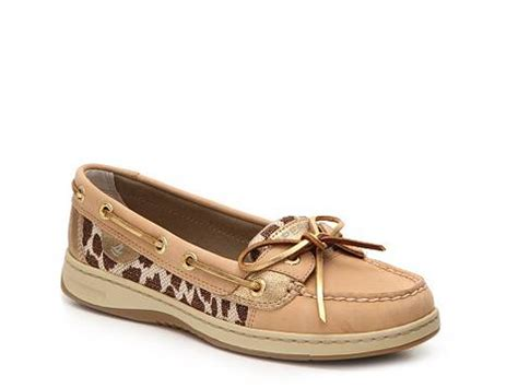 boat shoes uncomfortable sperry top sider angelfish leopard boat shoe dsw