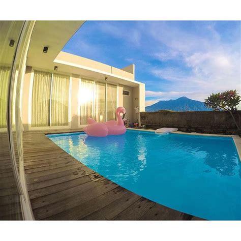 Kolam Besar Praktis Dan Murah rekomendasi villa di batu yang memiliki fasilitas kolam renang dengan harga murah