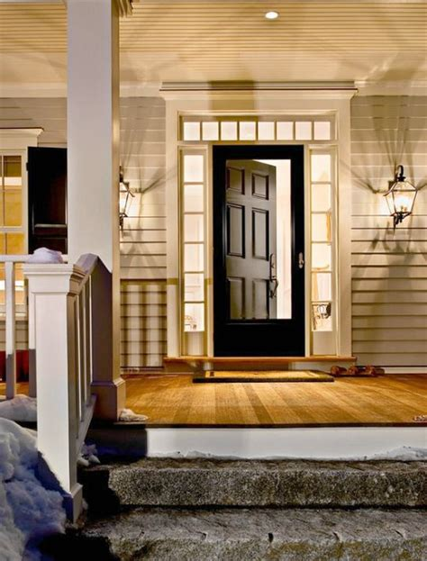 Farmhouse Style Front Doors Modern Farmhouse Style In The Berkshire Woods By Crisp Architects
