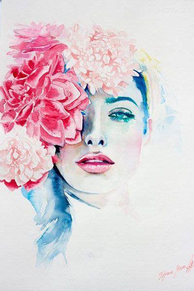 watercolor woman tutorial 376 best tatyana ilieva images on pinterest watercolor