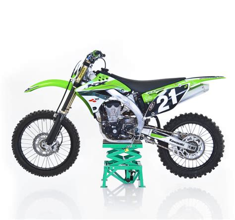 Motorradheber Cross by Moto Cross Lift Xl Gr 252 N Hebeb 252 Hne Scherenheber