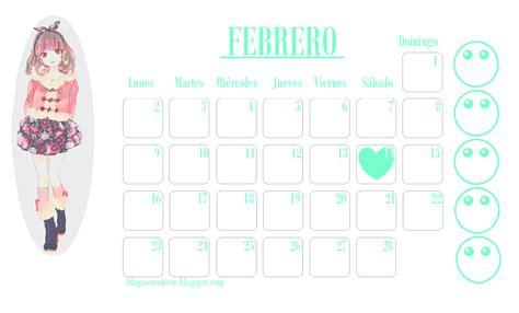Calendario Kawaii Calendario 2015 Kawaii Calendar Template 2016