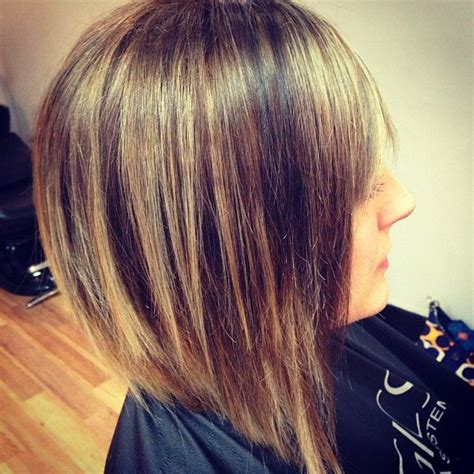 medium length inverted bob haircut pictures pin by april mcvay on hair pinterest