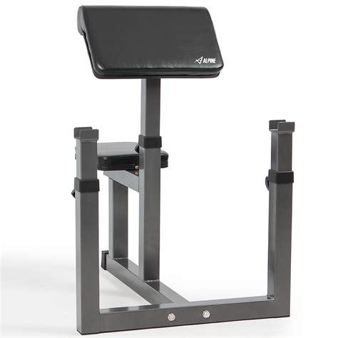 preacher arm curl bench arm curl bench machine biceps seated preacher adjustable
