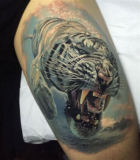 white tiger tattoos 44 best white tiger tattoos ideas with meaning