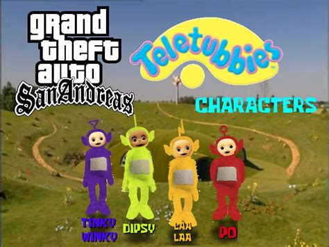teletubbies names and colors 28 images teletubbies