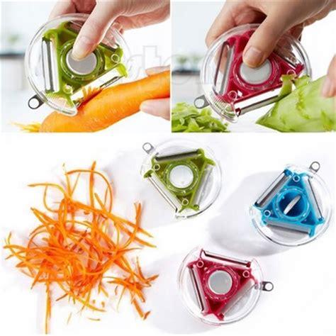 Terlaris Rotary Peeler Slicer Chopper 3 In 1 Pengupas Sayur Buah 1 vegetable fruit julienne multifunctional rotary peeler