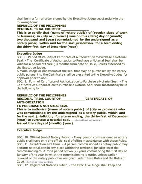 Sle Petition Notarial Commission Philippines 240631176 Cases Writing