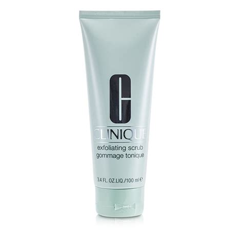 Clinique Exfoliating Scrub clinique exfoliating scrub fresh